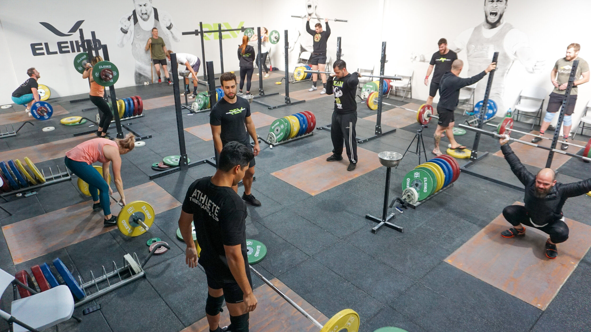 the barbell club - The home of our Olympic Weightlifting and Strength Sessions.