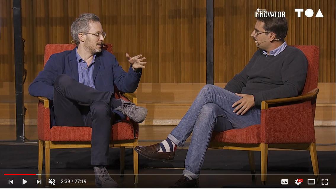 Interviewing Felix Petersen (MD, Samsung Next Europe)