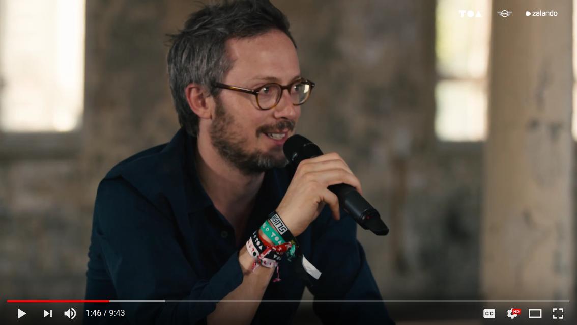 Tech Open Air 2015 Interview with Nikolas Woischnik
