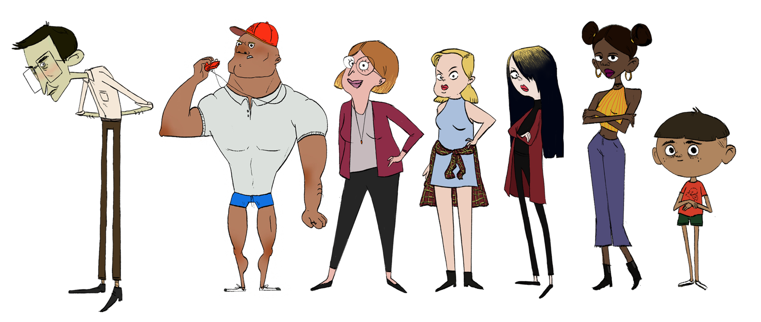 The rest of the cast of characters