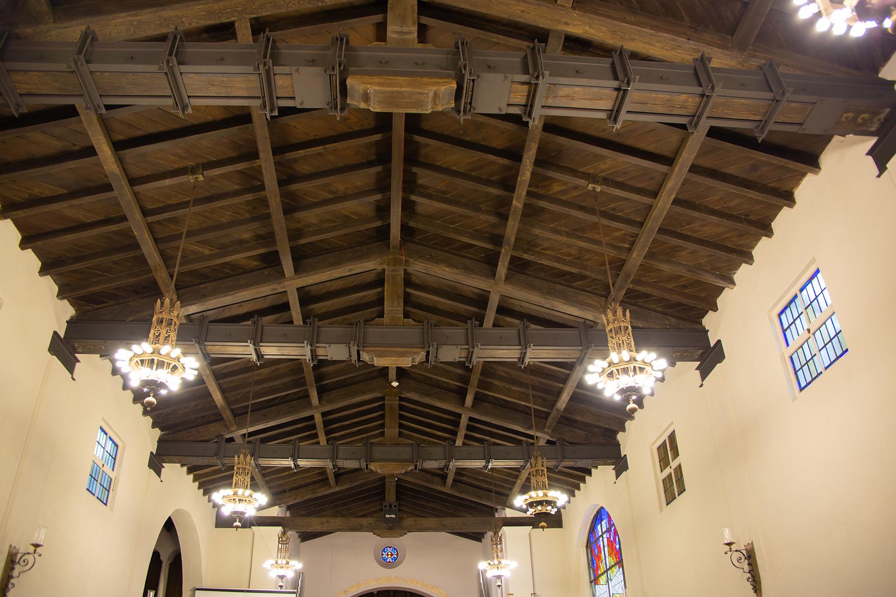 Repaired beams