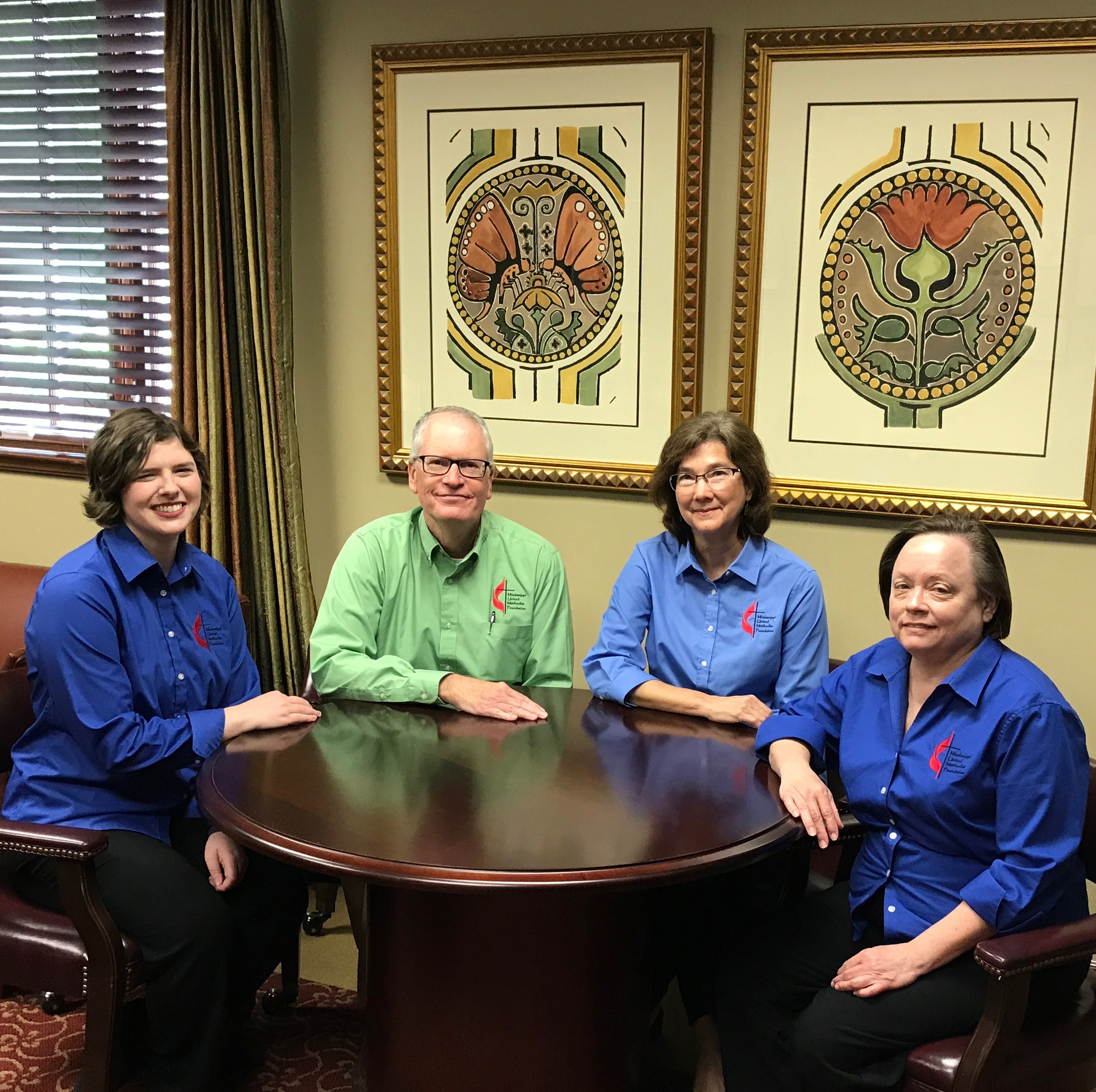 Melissa Blakely, Mike Hicks, Mary Lee Reed, and Billie Spraberry