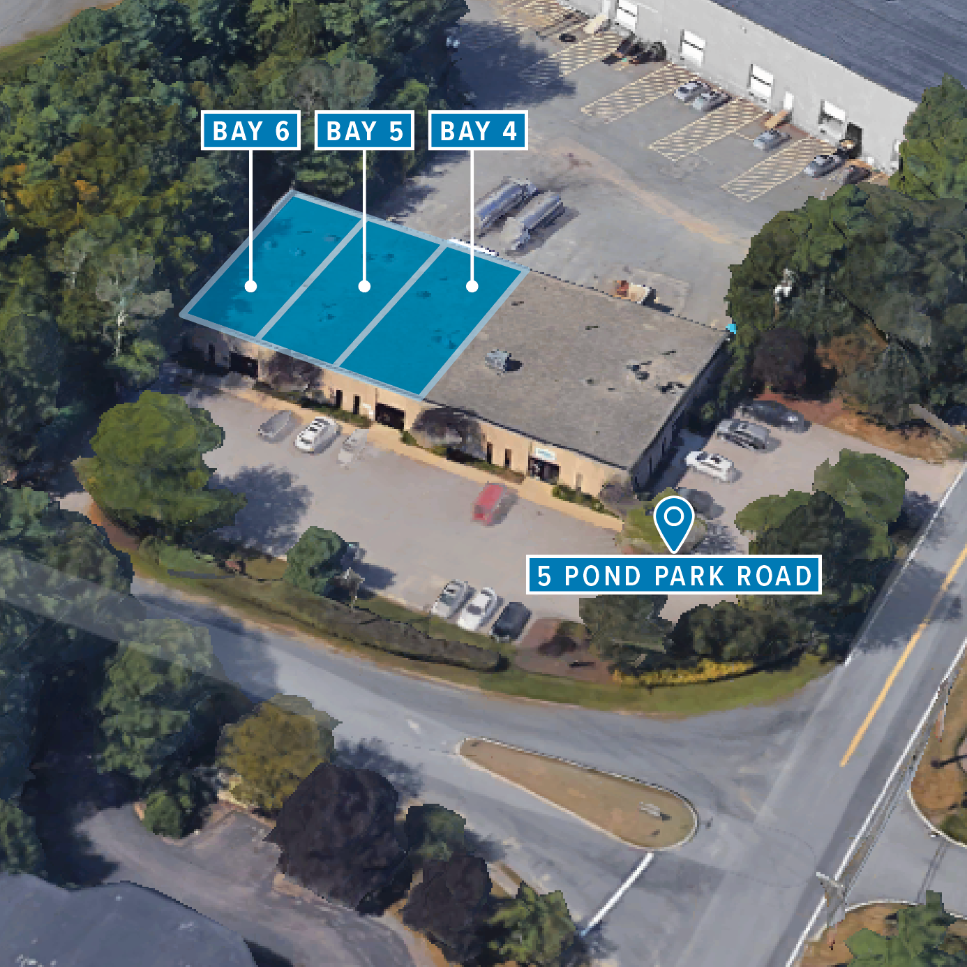 5 POND PARK ROAD - Office / Warehouse / FlexSouth Shore Park | Hingham, MA
