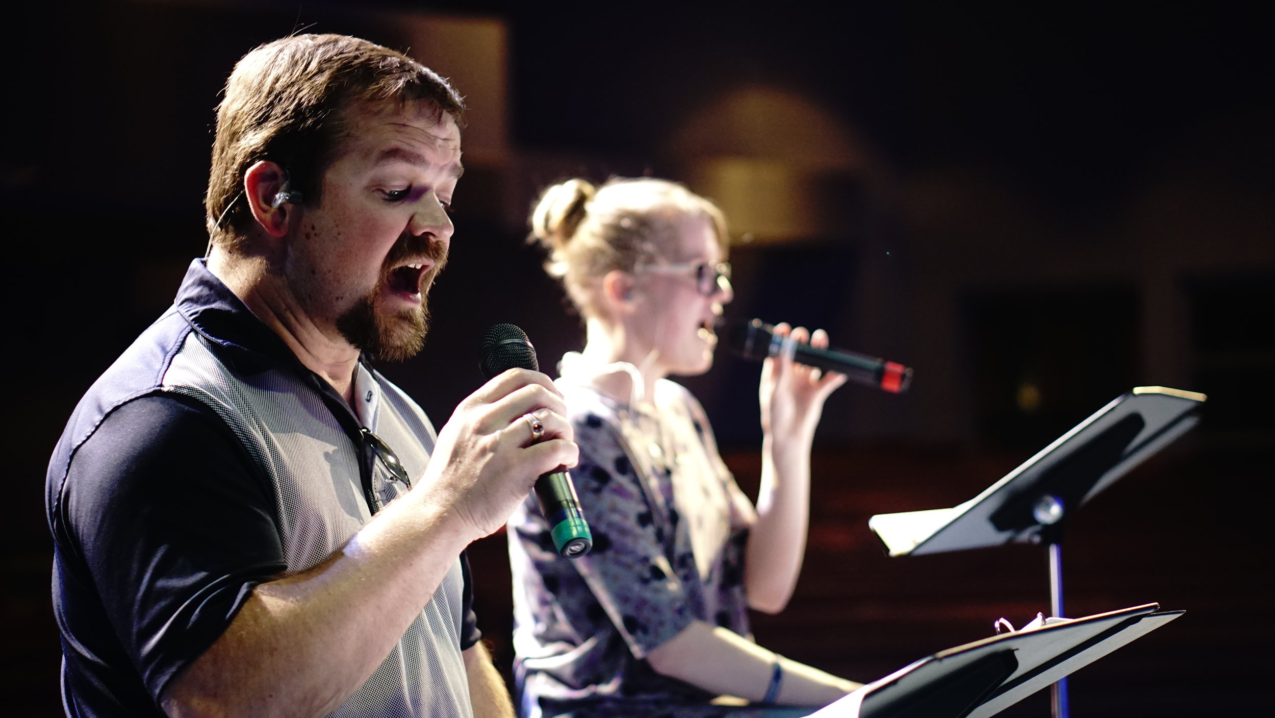 Worship - Using vocal, instrumental, technical, and visual gifts to lead the church in true worship