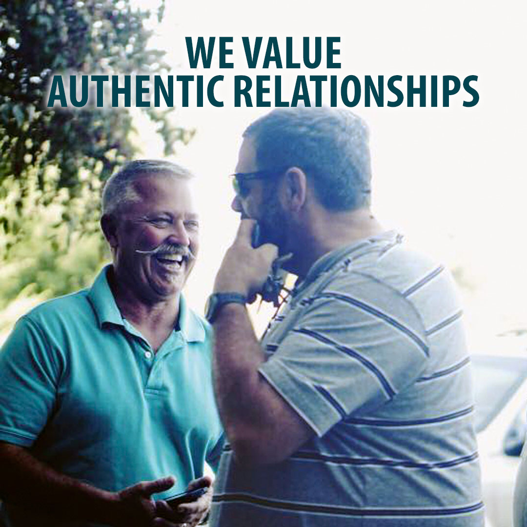 We believe that Christianity is meant to be lived as a team sport, in authentic relationships where people can have fun, gain trust, and care for one another.    (John 13:35, 17:20-23; Acts 2:42-47, 4:31-32; Hebrews 10:25)