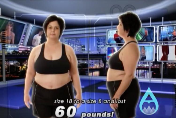 Single mom 60lb weight loss win -