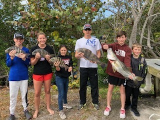 Had a successful day of putting groceries in the boats with @eastcoastfishingcharters #evinrude #ofishlyhooked#powerpole#boatsnmotors#verobeachfishing
