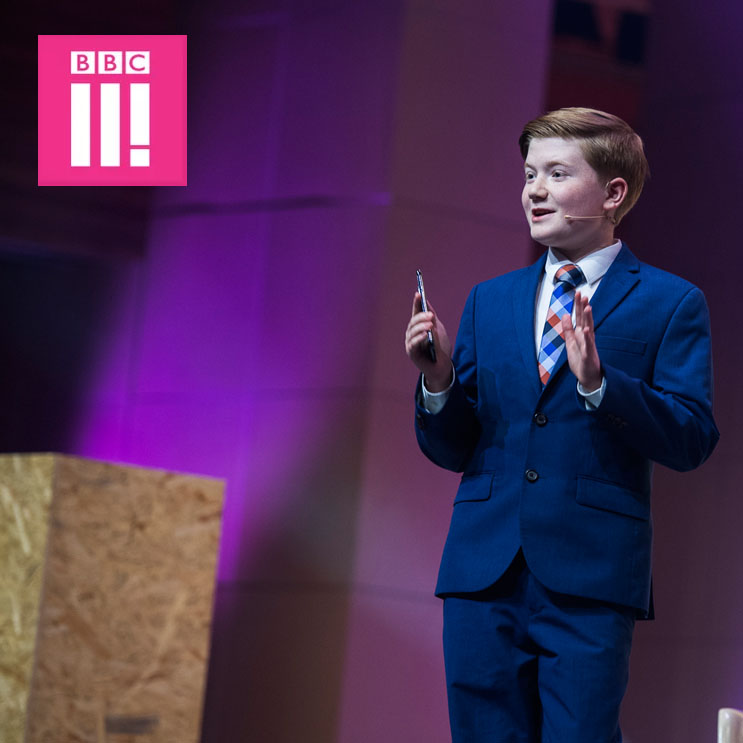 BBC 3: The 13 Year Old Helping People With Disabilities