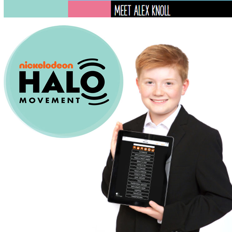 Nickelodeon Halo: Meet Alex Knoll