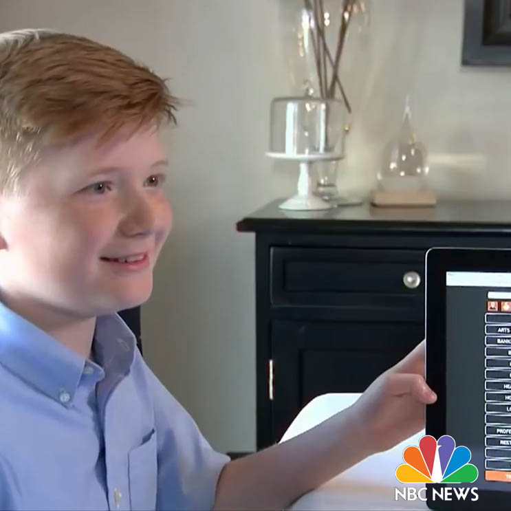 NBC Nightly News: This Child Is Helping People With Disabilities