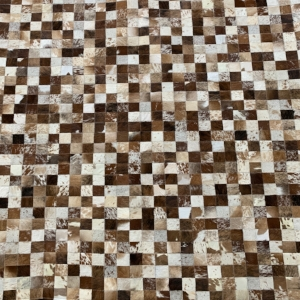 Brown & White Area Rug #25