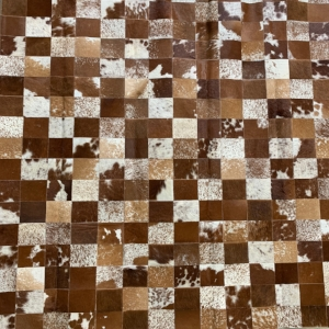 Brown & White Area Rug #26
