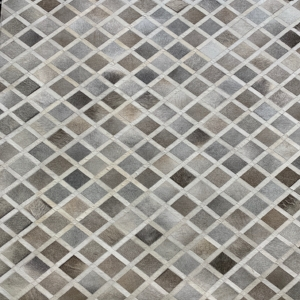 Diamond Grey Area Rug #2