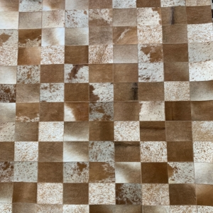 Brown & White Area Rug #27