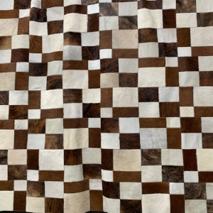 Brown & White Area Rug #28