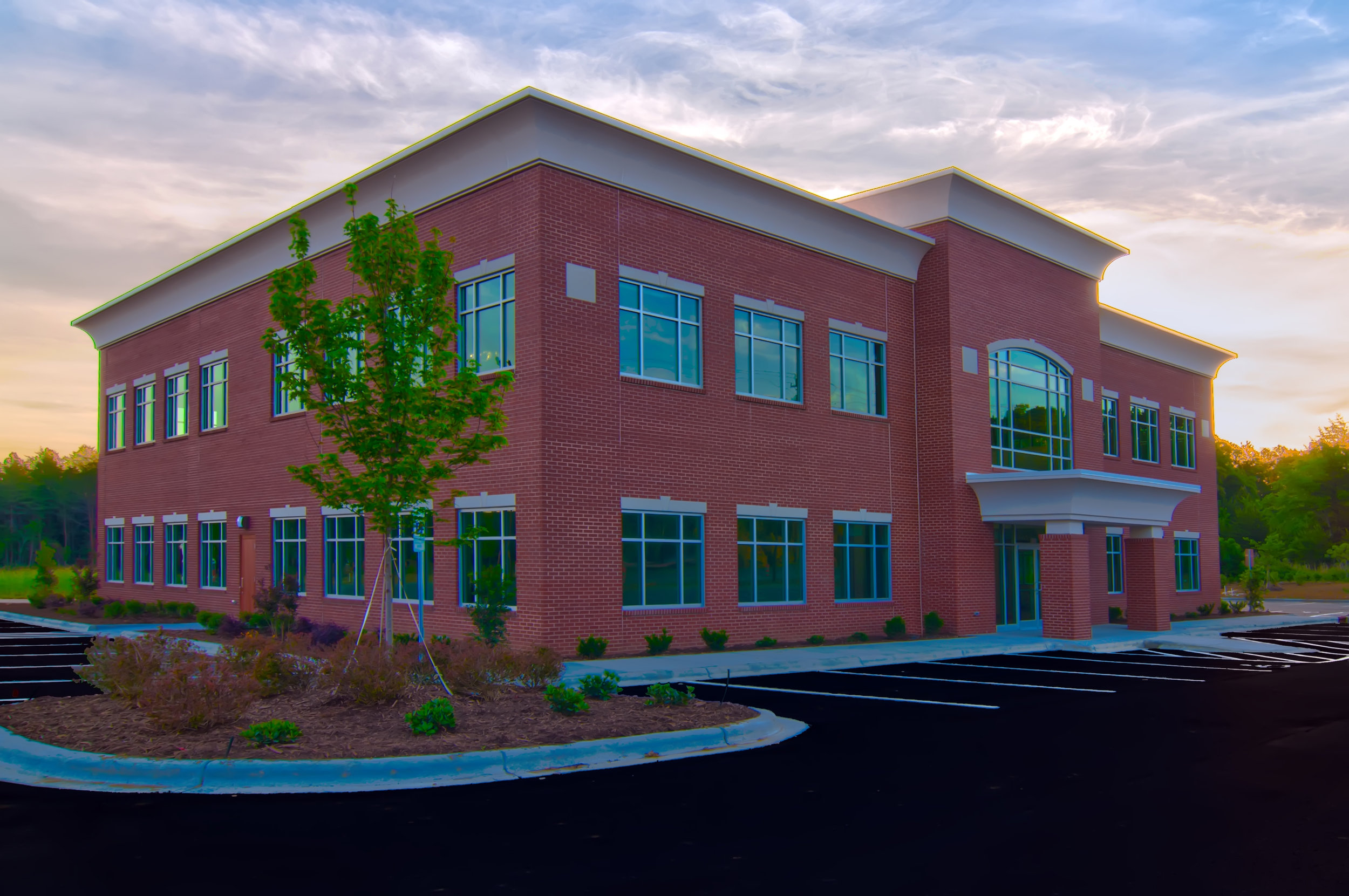 Harrisburg Medical Building is located near the intersection of I-485 and Rocky River Road.