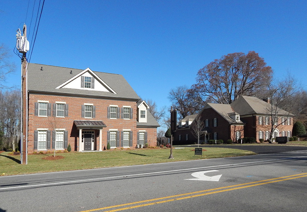 The Matthews Executive Center is located off of Matthews- Mint Hill Road in Matthews, North Carolina.