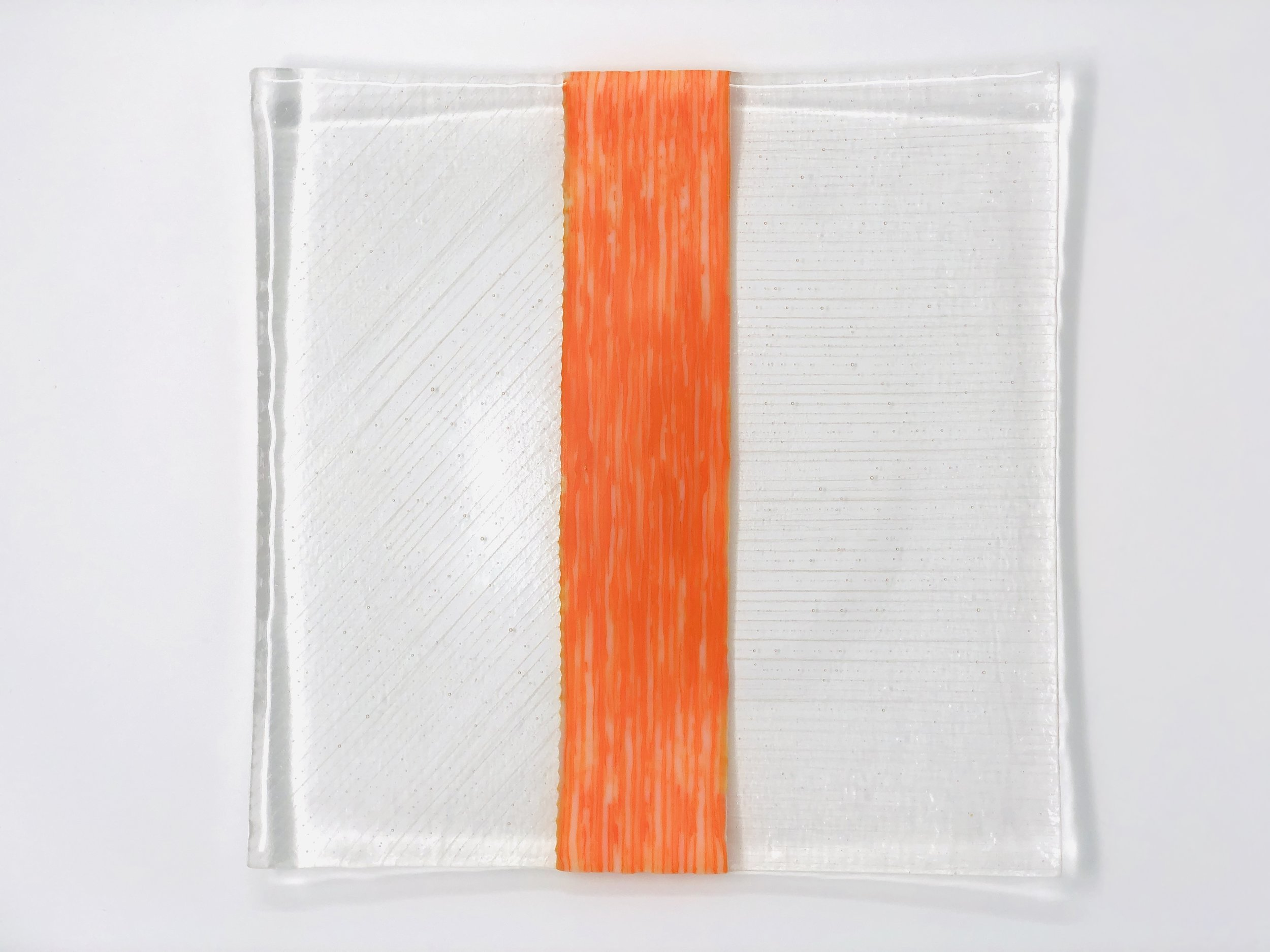 Orange Streaky and Clear