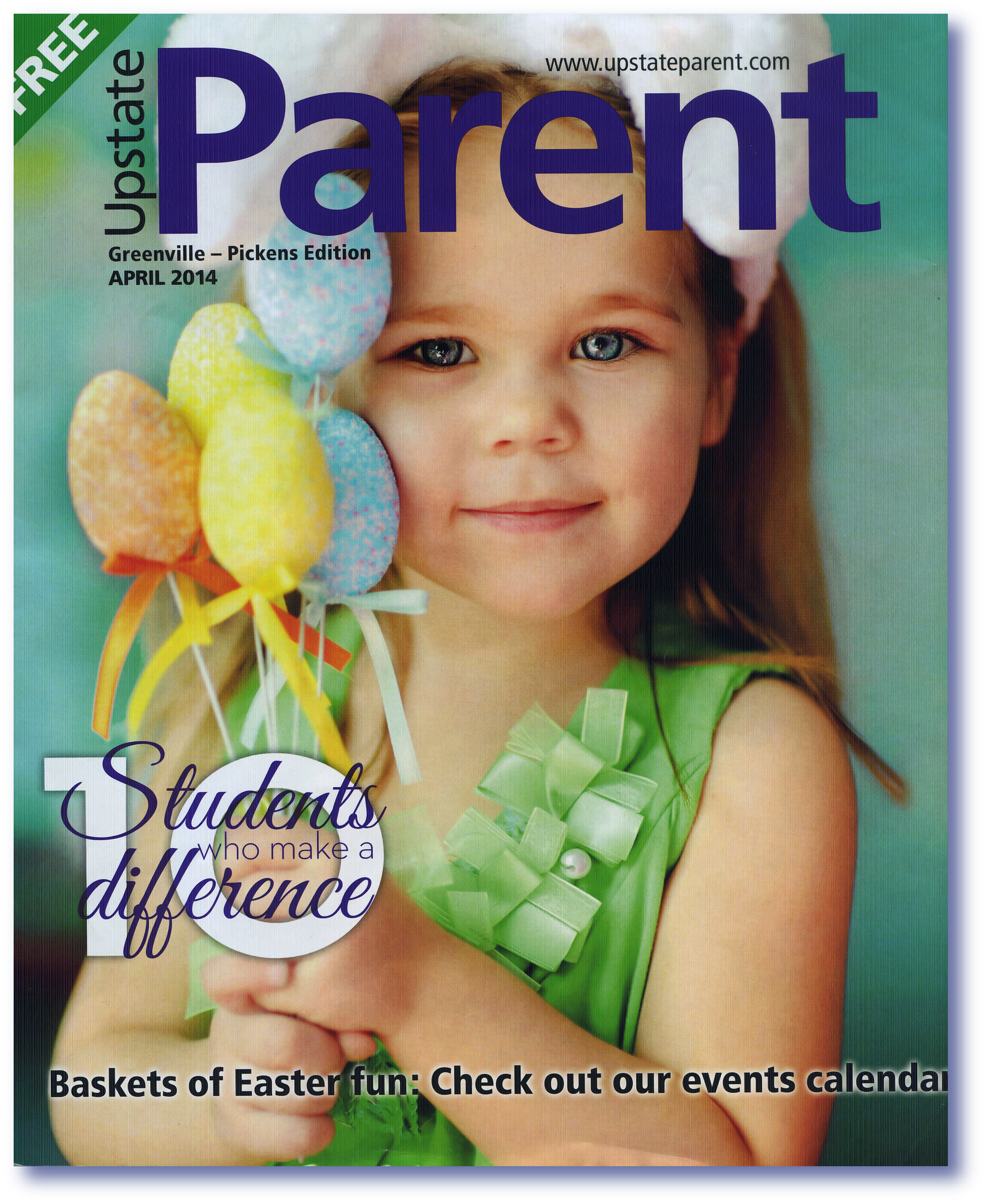 Bella's  Parent Mag issue 2014.png