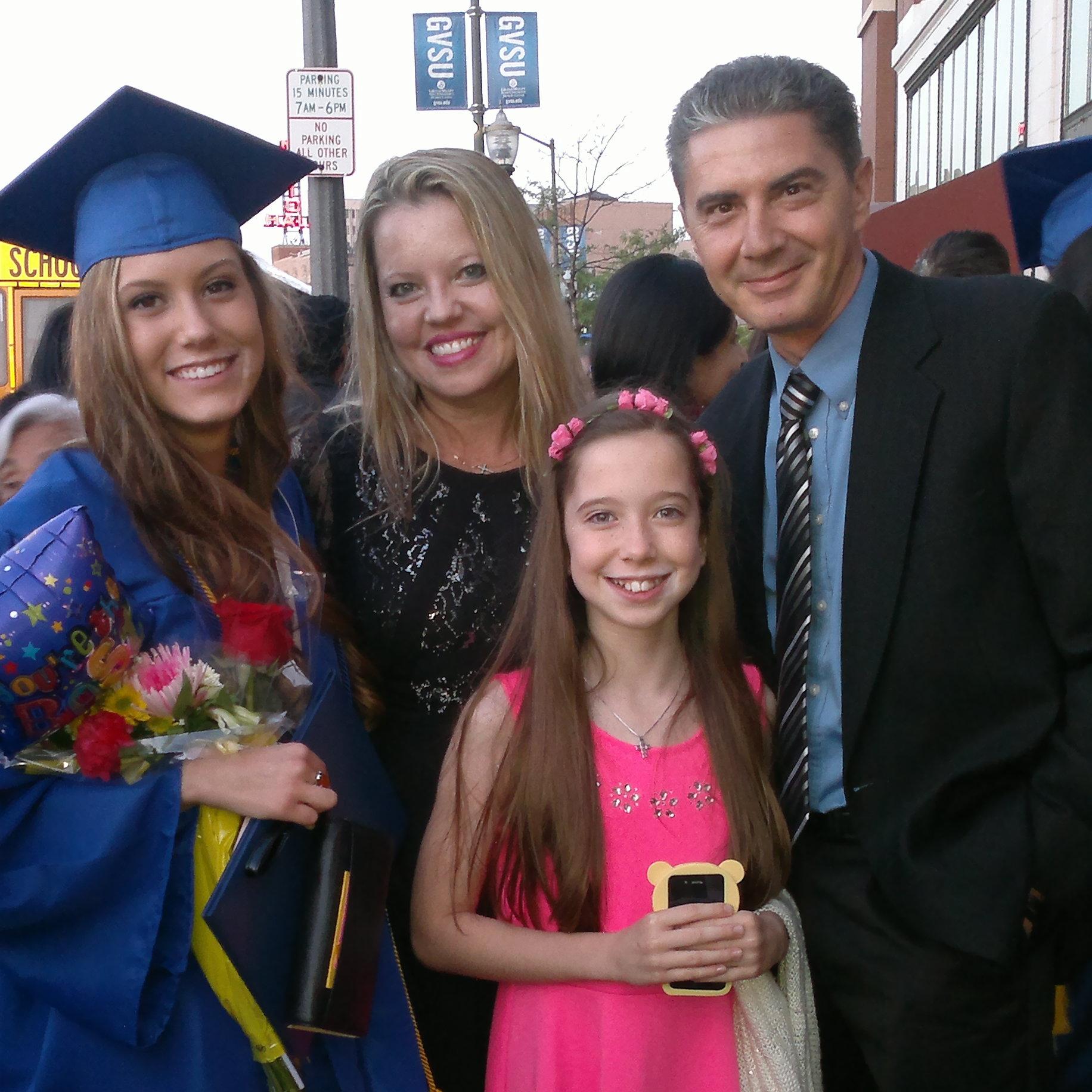 Julia's High School Graduation- May 2014
