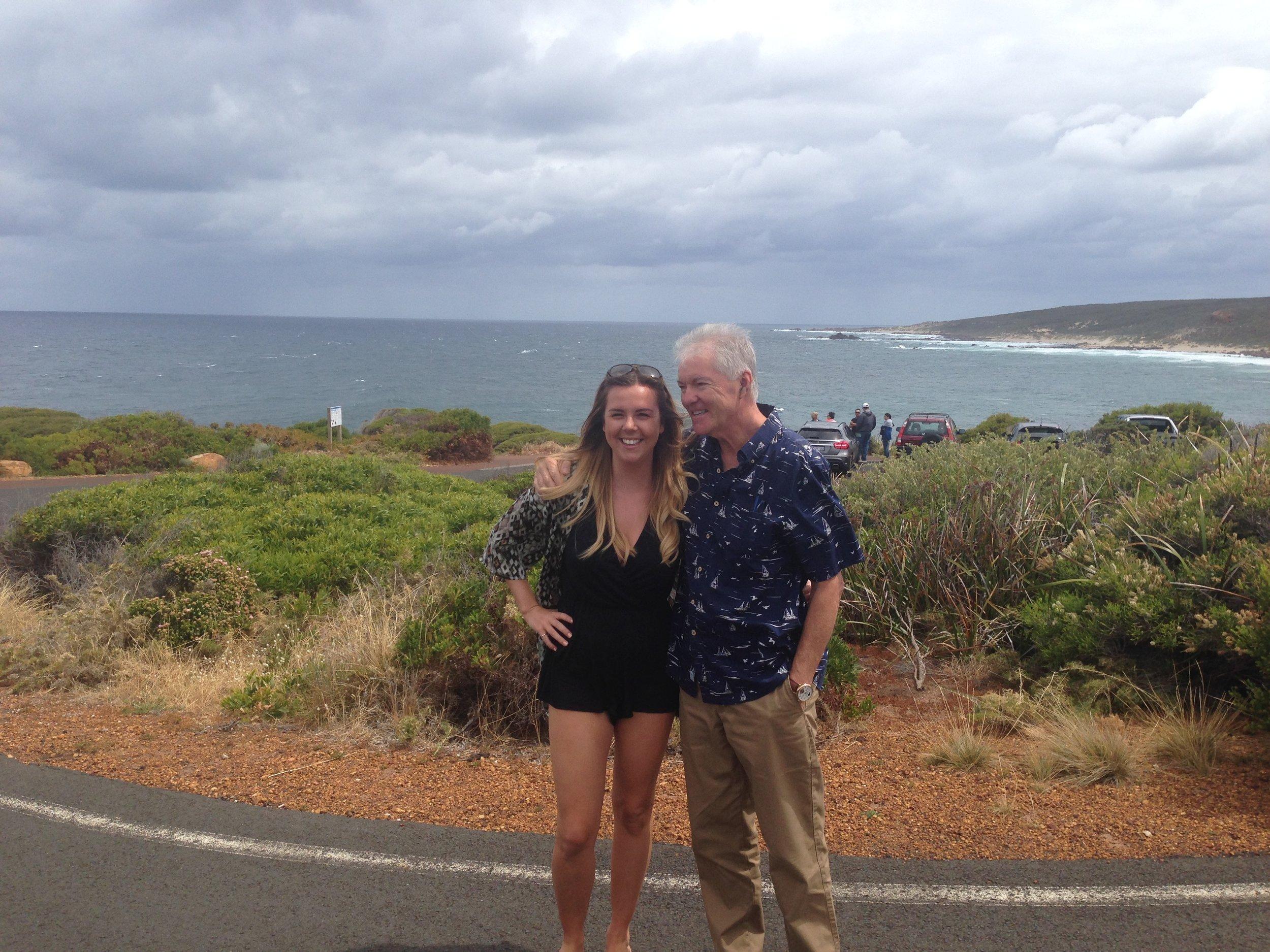 ME & lovely girl from UK smiling at SUGARLOAF.JPG