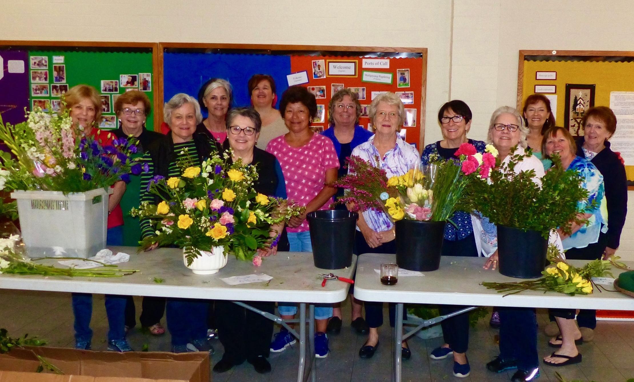 Flower Guild at Easter.jpg