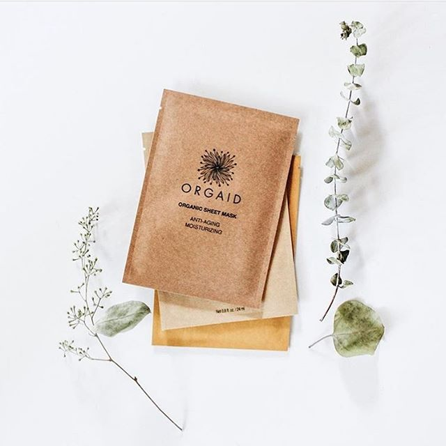 inside our mother's day box you'll find one of these @orgaid sheet masks. they are organic, non-toxic, cruelty-free, made here in the us and make your skin feel remarkable. treat your mom + shop the box in our bio.