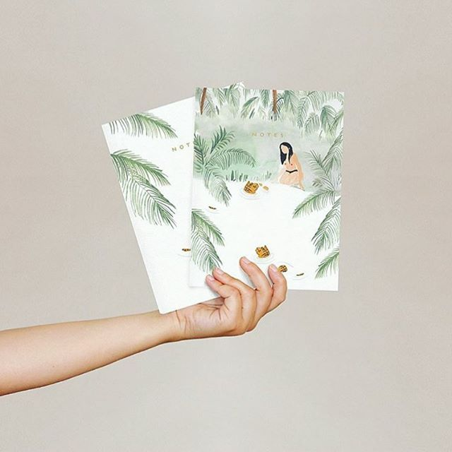 we're so excited about our first shipment from @shopseedlings. they incorporate plantable seed packaging with their beautiful paper products - biodegradable, eco-paper with wildflower seeds. plant + grow 🌱