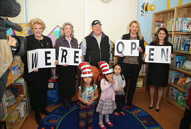 Kids/Mario Batali Foundation Library Opening
