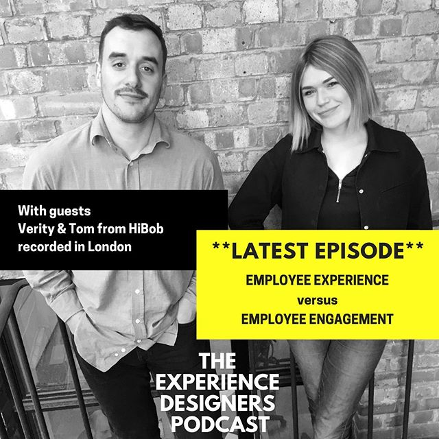 (LINK IN BIO 👆) In this episode you'll meet Verity & Tom. After meeting in Stockholm. We thought it would be fun to come together and talk about employee engagement versus employee experience. Sharing our own experiences of work, how it's changed and the expectations employees have a modern day businesses. Thanks for being great guests! Always a pleasure when meeting amazing people in the industry. . . . . #hibobhr #hr #humanresources #hrtransformation #futureofwork #experiencedesign #designthinking #employeeexperience #employeeexperiencedesign #talentmanagement #humanresourceslife #employeeexperiences #employeeexperience2019