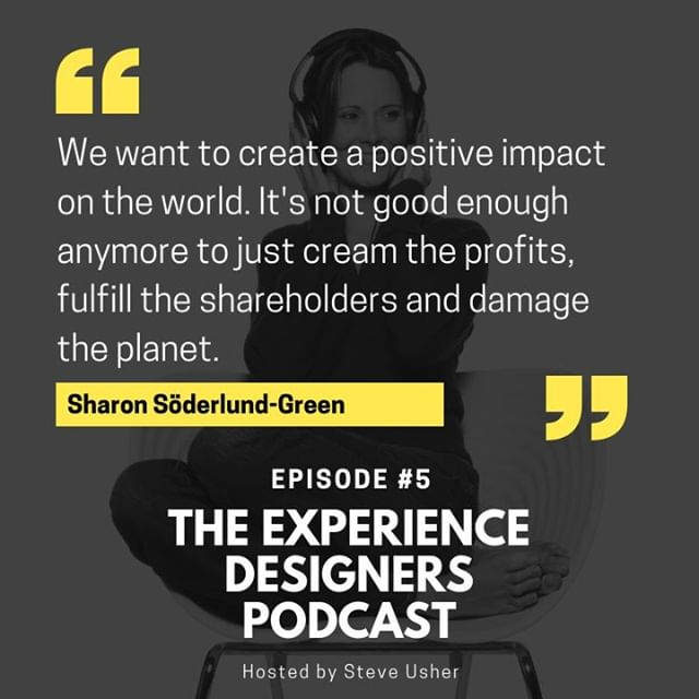 Episode #5 of The Experience Designers podcast. LINK IN BIO. Meet the creator of the 'The Human Workplace Manifesto'. Sharon Söderlund-Green and learn about how she took it upon herself to do something about improving the workplace and business. . . . #hr #humanresources #hrtransformation #futureofwork #experiencedesign #designthinking #employeeexperience #employeeexperiencedesign #talentmanagement #humanresourceslife #employeeexperiences #employeeexperience2019