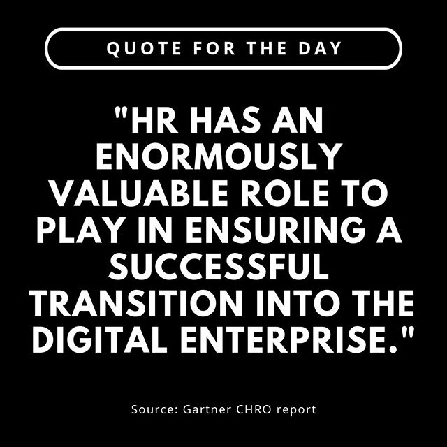 What does digitalisation mean to you?  In a recent poll to HR professionals. Efficiency. Easy. Seamless. Simplicity. Experience. Was all mentioned.  This reflects HR's unique mission today of driving business outcomes while — or better yet, by — improving the employee experience. . . . . #hr #humanresources #hrtransformation #futureofwork #experiencedesign #designthinking #employeeexperience #employeeexperiencedesign #talentmanagement #humanresourceslife #employeeexperiences #employeeexperience2019