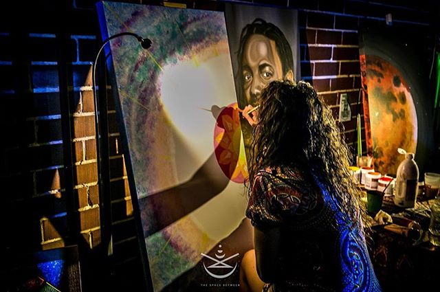 @lizodesign at Biology Atlanta  #art #culture #atl #equinox #consciousness #visualart  Photography by @gypsysoulsphoto