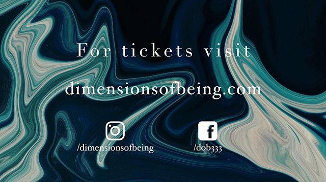 Explore the universal principle of flow on April 6 at DoB | FLOW.  Discounted presale tickets are slowly selling out. Available until March 31st. Link in our bio.  Secret location will be released on April 6 at 3:33 am on dimensionsofbeing.com.  Stay tuned 👁  #dob #experience #consciousness #music #art #techno #house #electronicmusic #explore #discover #flow #greenville #greenvillesc #yeahthatgreenville #exploration #quantumflow