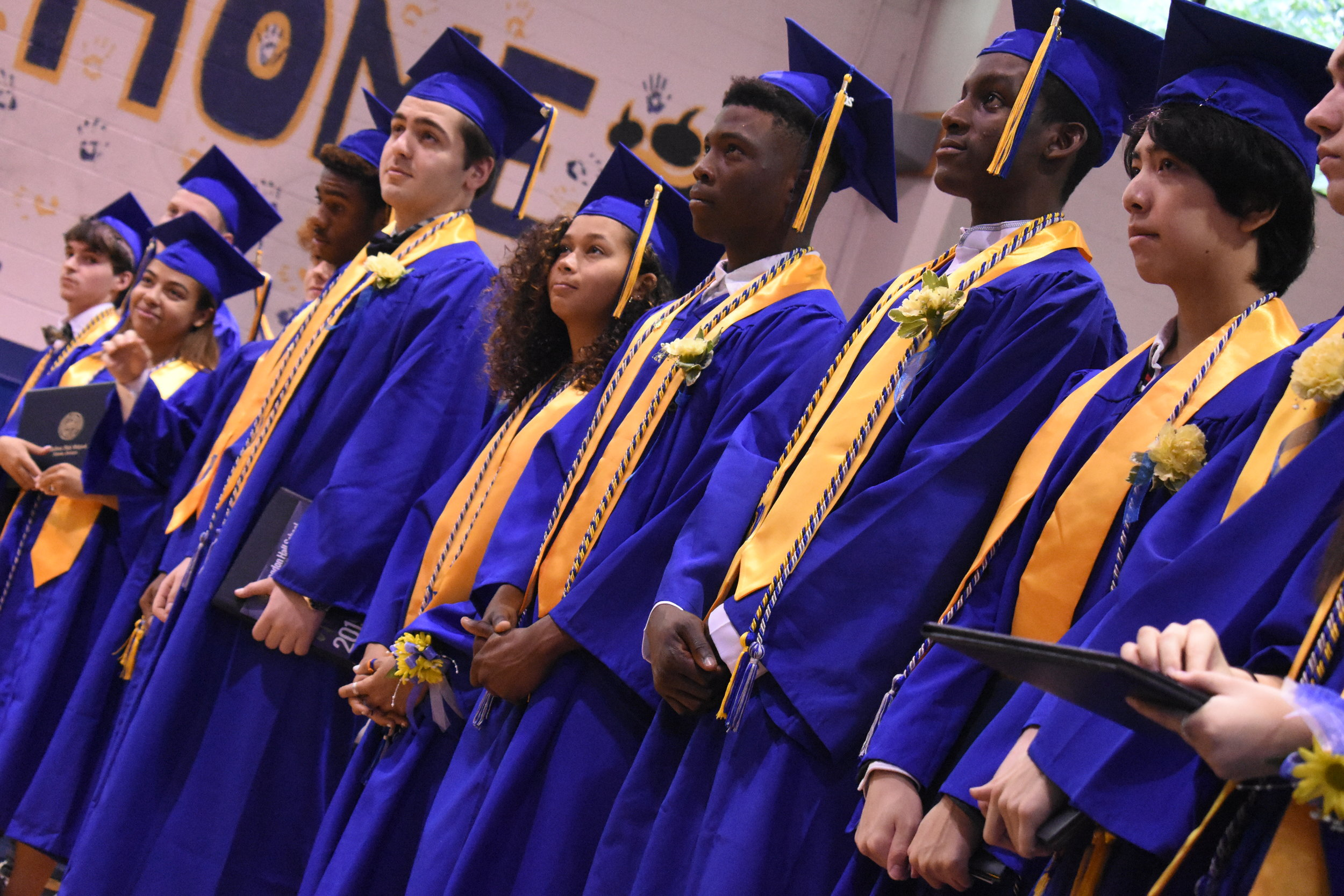 Commencement Ceremony - The annual event that our Seniors count down to every year - graduation! Seniors wear the customary blue robes and gold stoles as we celebrate all of their success at Brandon Hall.