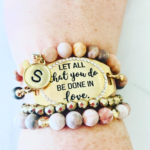 You Inspire Me Stainless Steel Charms Quantity Options BFS3183