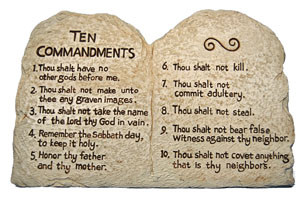 10 Commandments Part 3