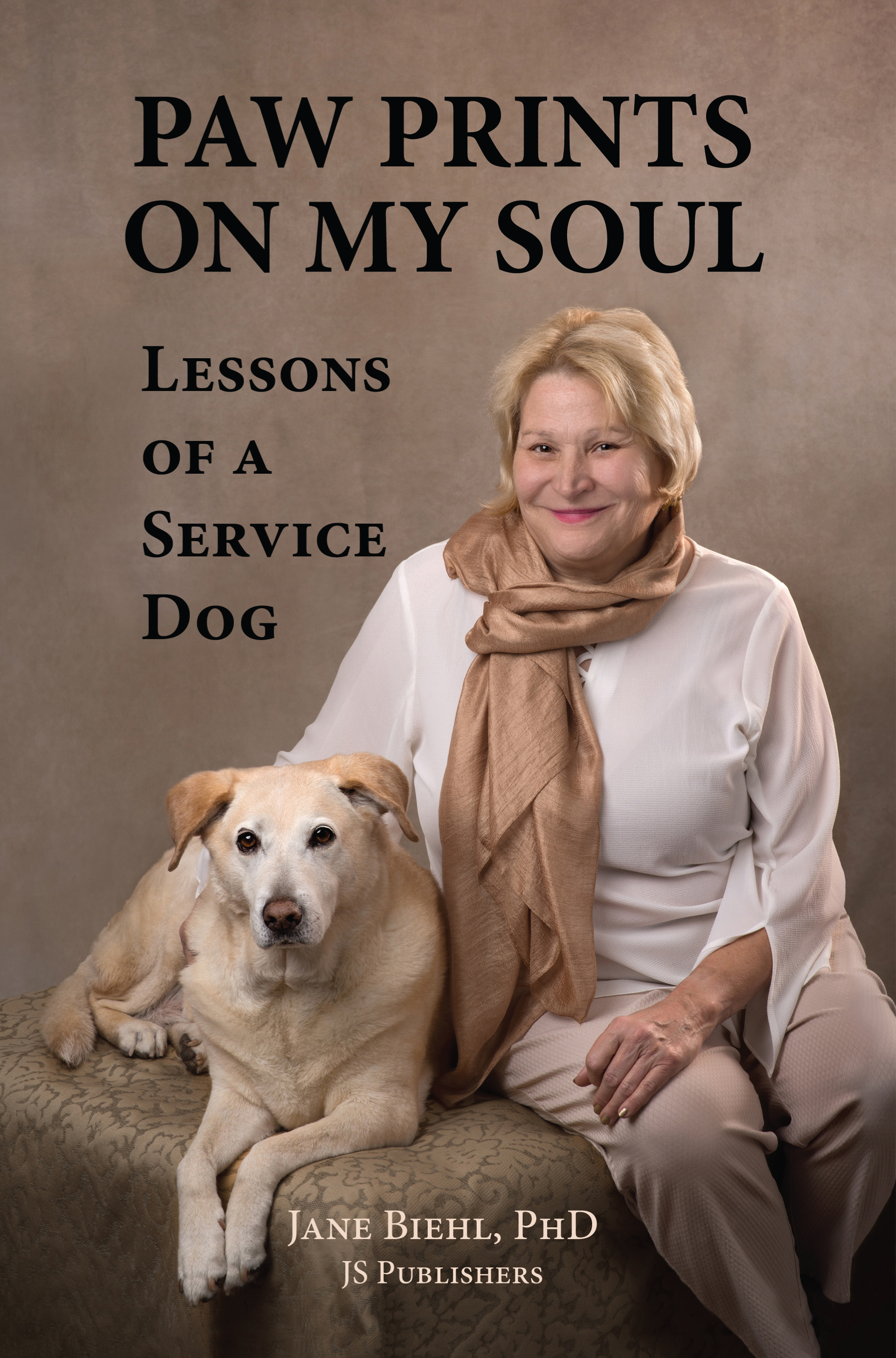The author's second book is title  Pawprints on my soul:Lessons of a service dog.  This is a devotional about her hearing ear dog, Sita - their journey together and the valuable lessons Sita has taught her.