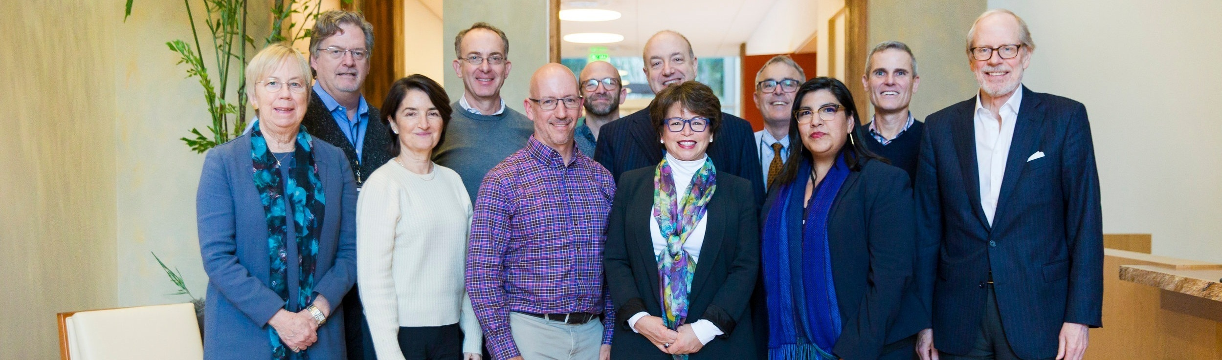 Participants from the December 2018 gathering of the Presidents' Forum on Racial Equity in Philanthropy, with guest speaker Valerie Jarrett, former senior adviser to President Barack Obama.  Click here  to read the meeting report from the event.