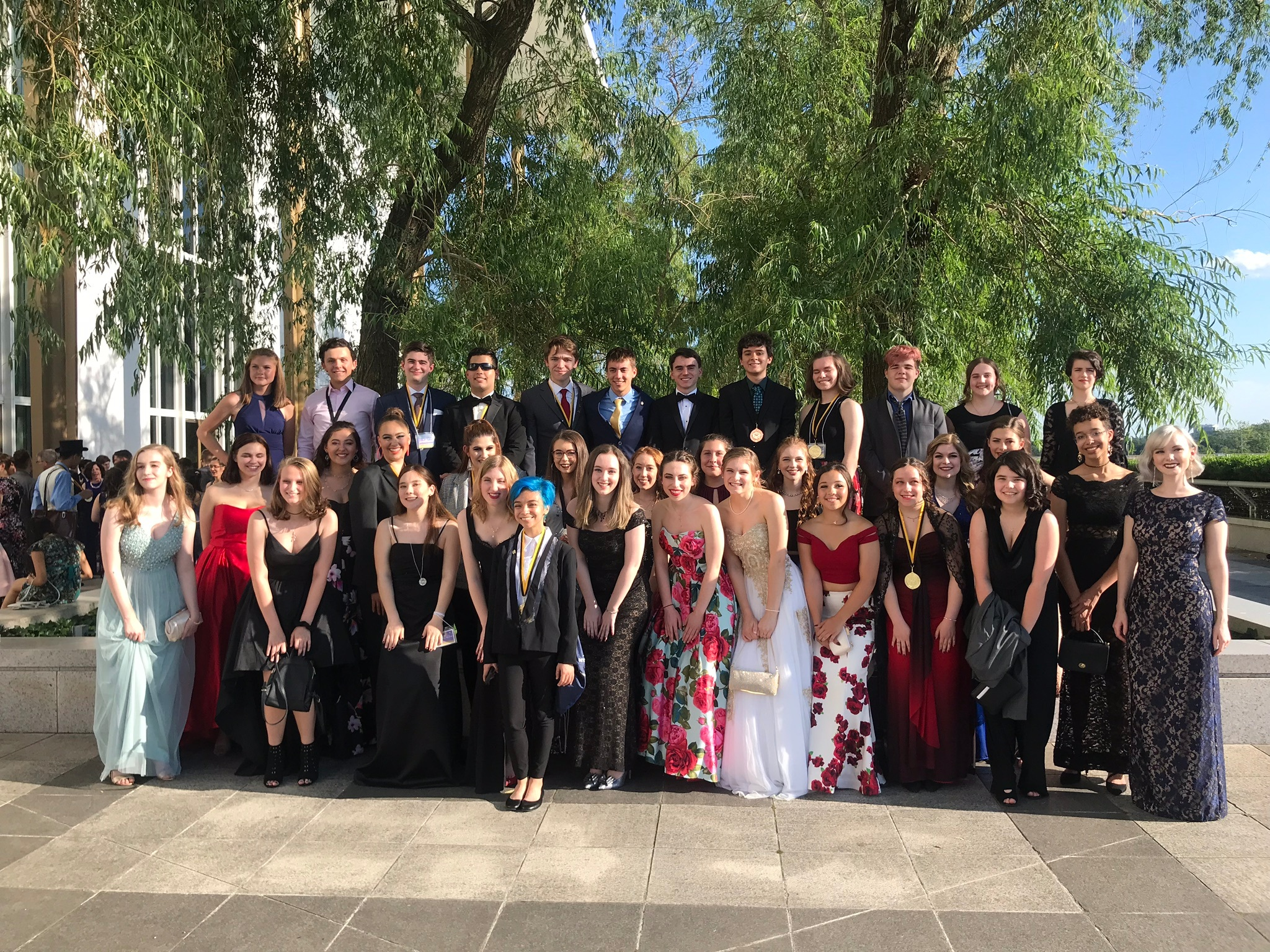 Spartan Theatre at the Cappies Gala in 2019!