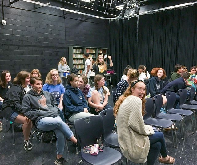 🌟🎭 Our first Thespian Honor Society Meeting was a success.  We look forward to a fantastic year!