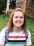 Jes Willis - (Light Crew) is a freshman, and this is her first time working on a high school show. She is super excited.