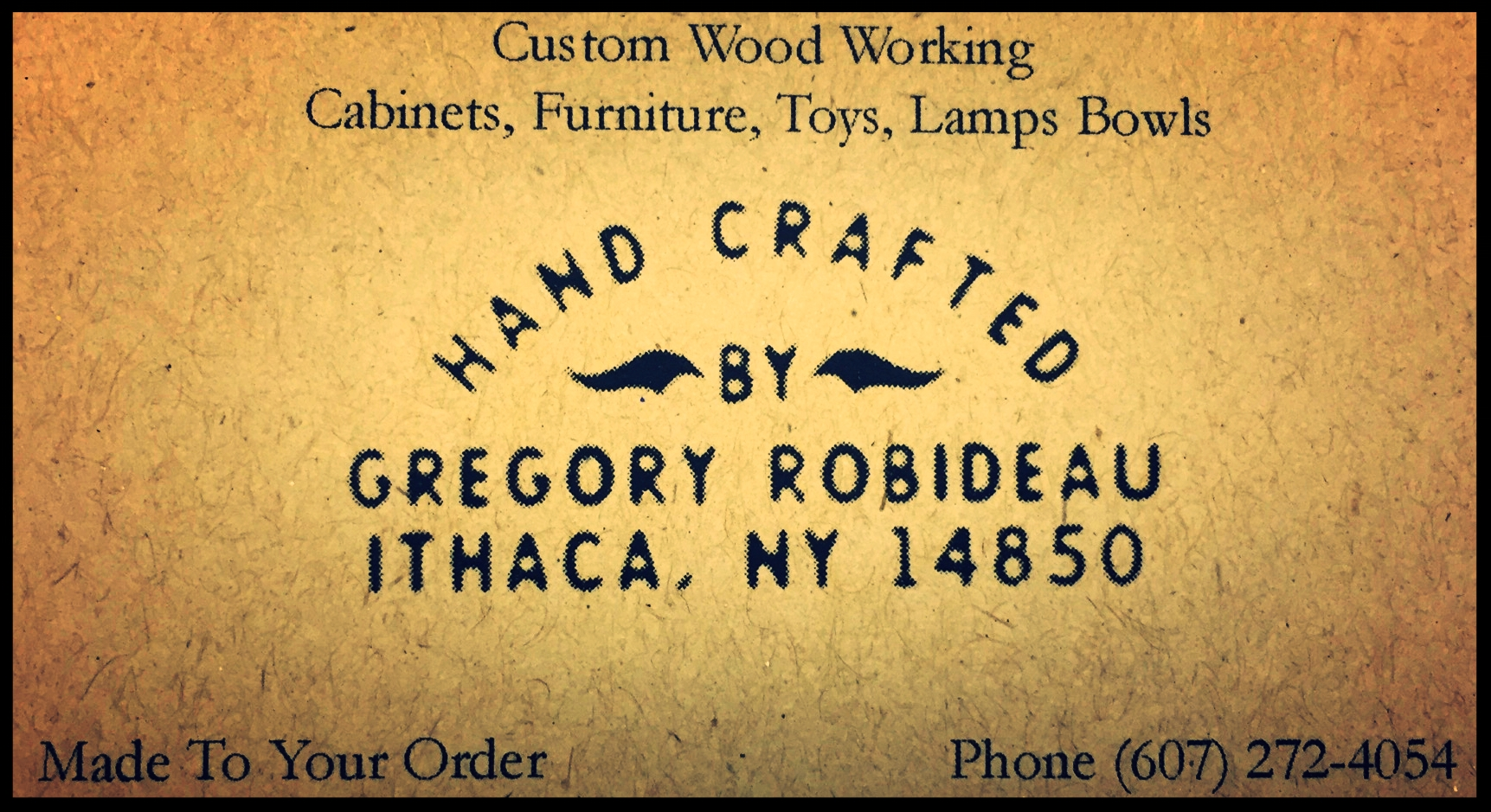 Hand Crafted byGregory Robideau - Greg is my father, mentor, and forever the reason this thing we call woodworking is in my blood. I couldn't be happier to have his items for sale here at the Makery Market! Check out his items below!