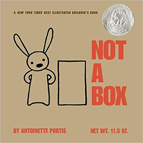 Not a Box Hardcover  – Dec 12 2006  by Antoinette Portis (Author, Illustrator)