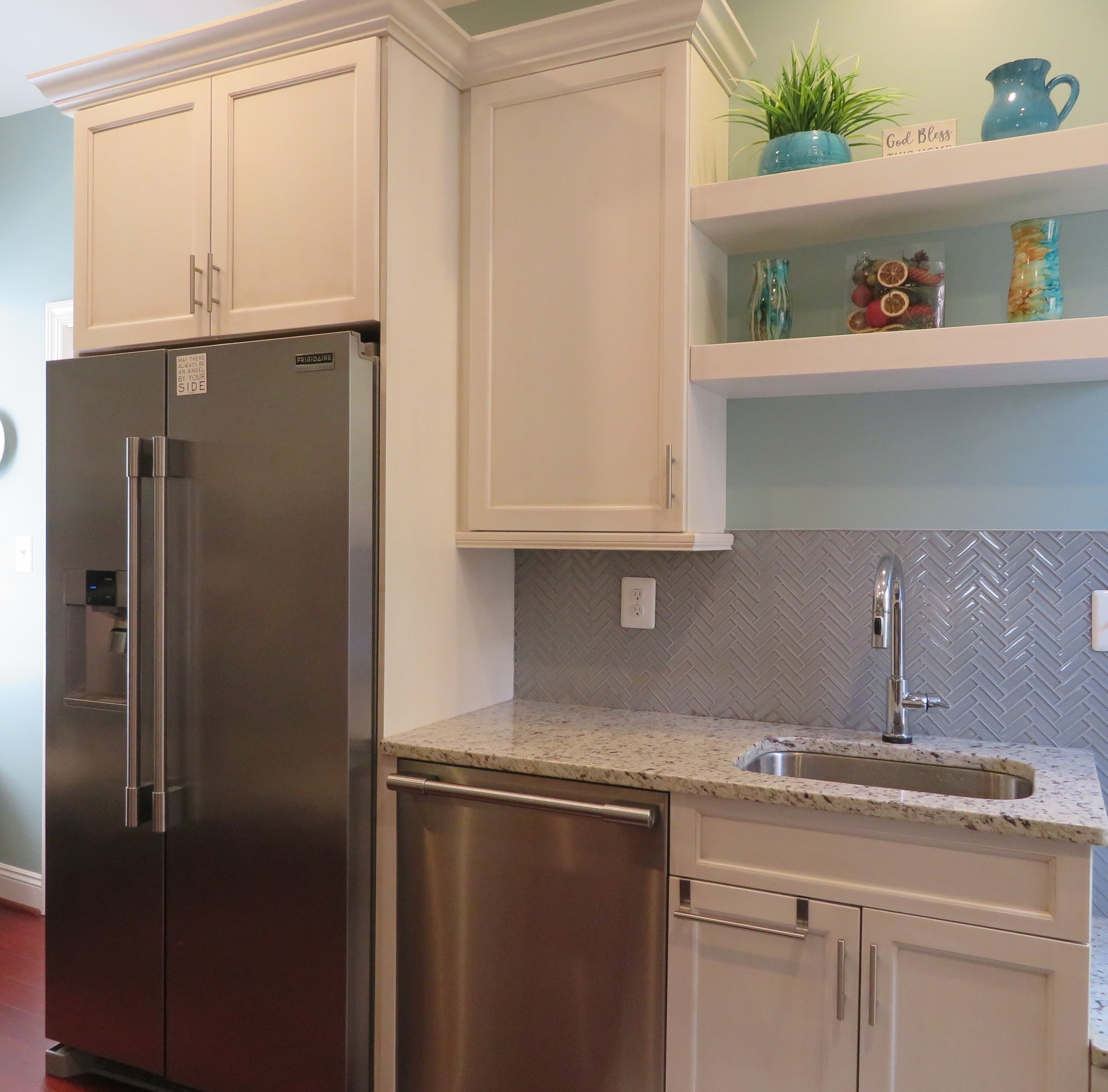 custom cabinetry, quality countertops, and modern fixtures -