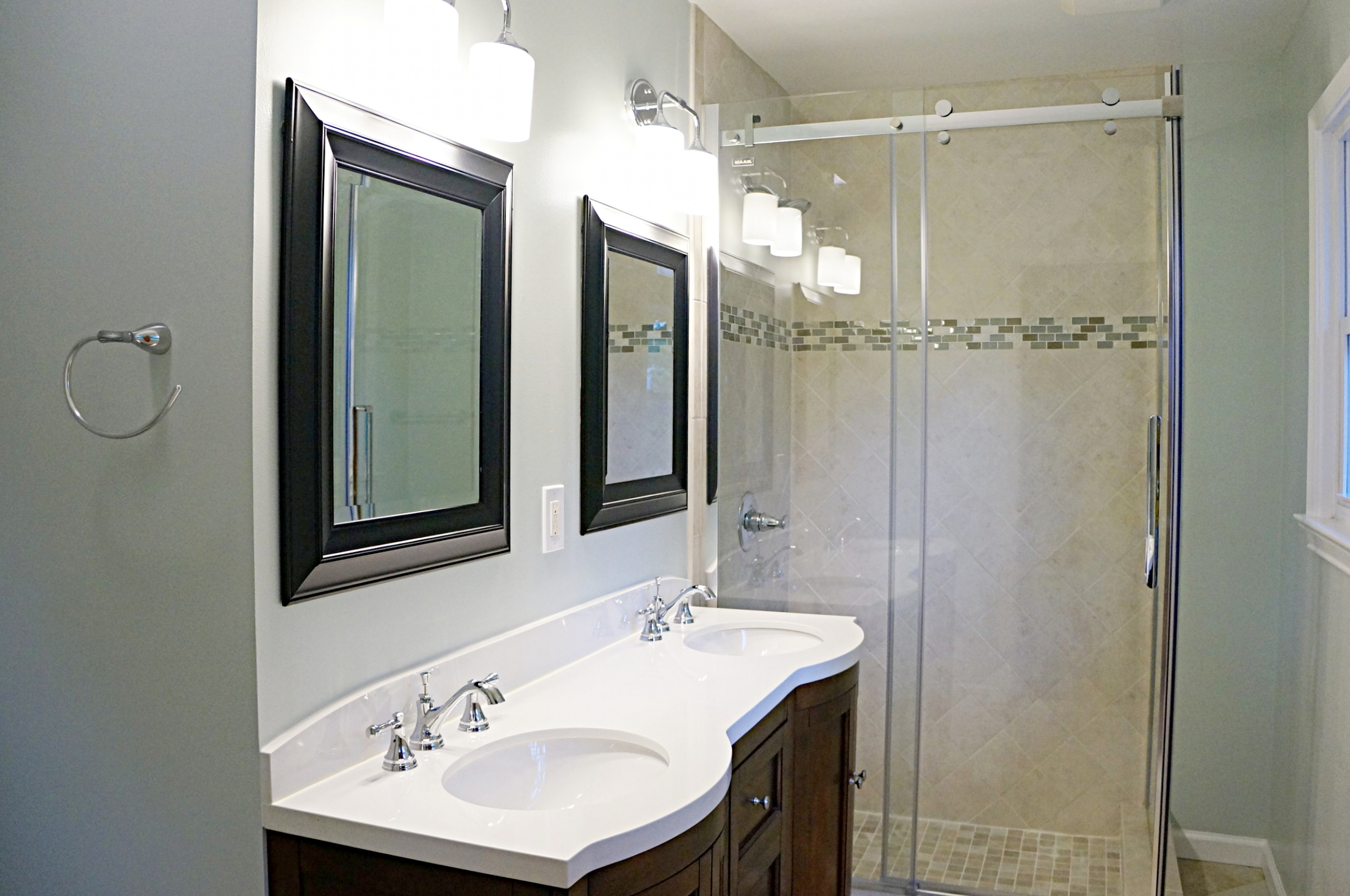 Old Towne Design Build can help clients reconfigure the bathroom for the best layout. -