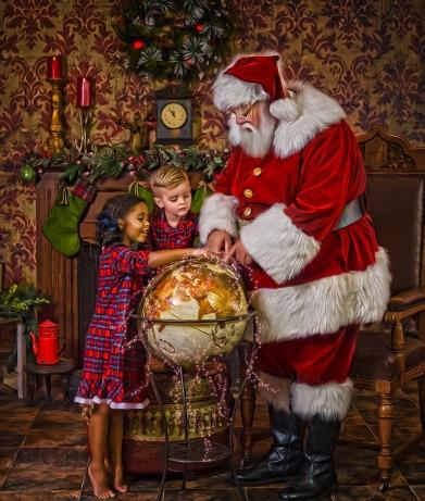 Santa's Globe -