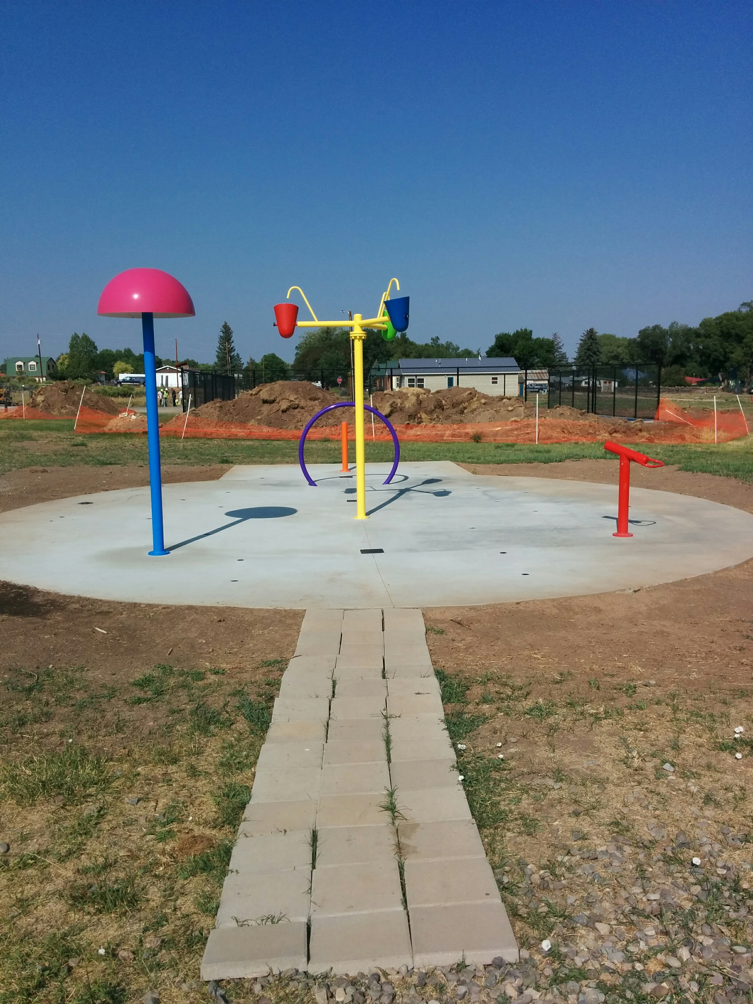 Norwood Colorado Parks and Recreation Splash Pad