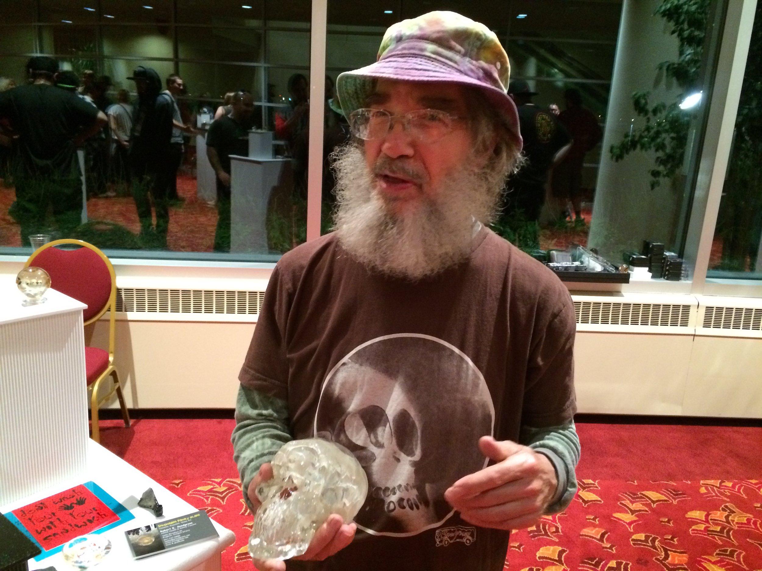 glass skull glassroots momkasglass madison