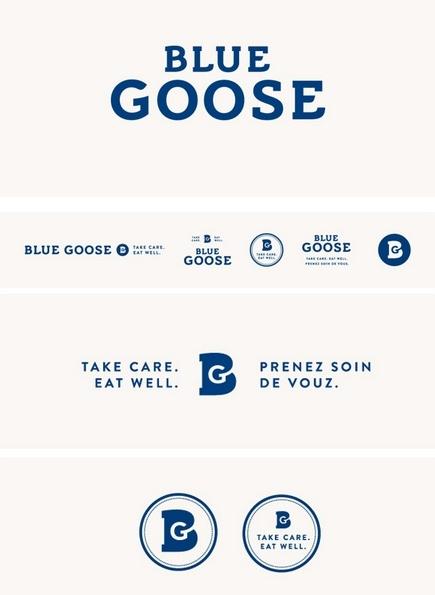BLUE GOOSE /  Brand Identity